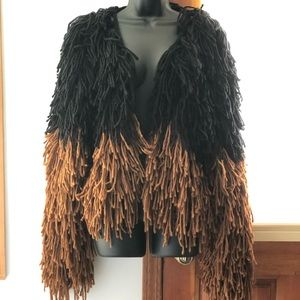 Cute winter shaggy jacket from Nasty Gal!